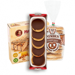 Csomagolt sütemények